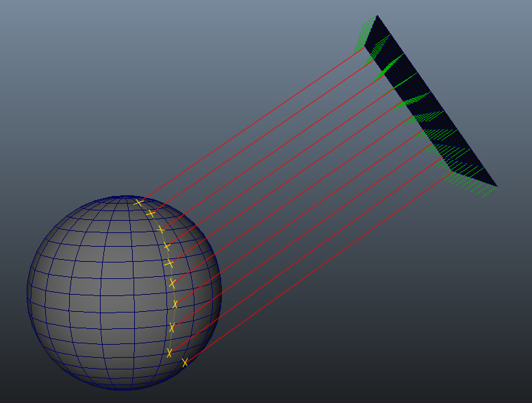 Project a mesh to another with Maya API (English Translation